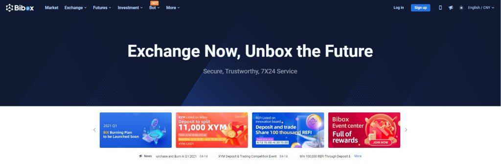 Altcoin Exchange Bibox