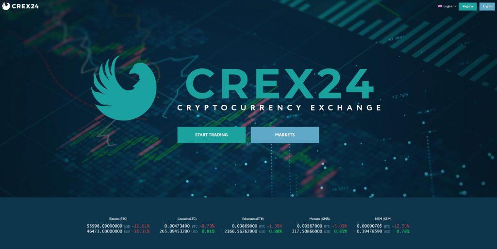 Altcoin Exchange Crex24