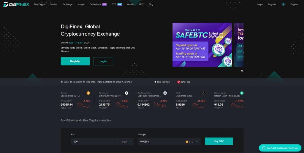 Altcoin Exchange Digifinex