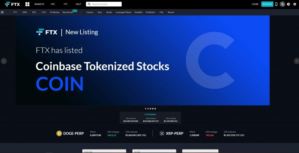 Altcoin Exchange Ftx