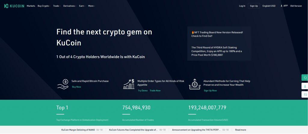 Altcoin Exchange Kucoin