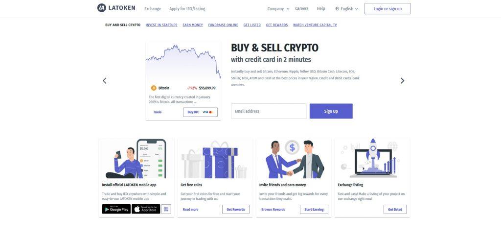 Altcoin Exchange Latoken