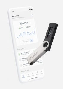 Ledger Nano S Live Crypto Wallet
